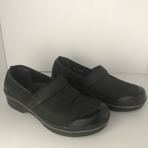Dansko Black Vegan Clogs